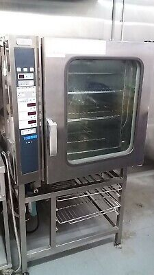 zanussi commercial industrial combi oven  10 tray