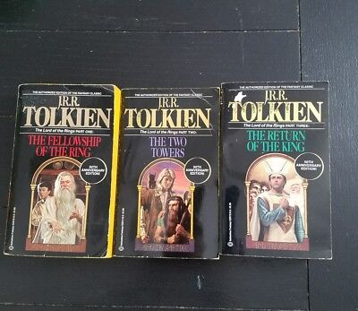 LORD OF THE RINGS ~ TOLKIEN ~ 50th ANNIVERSARY ~ PB