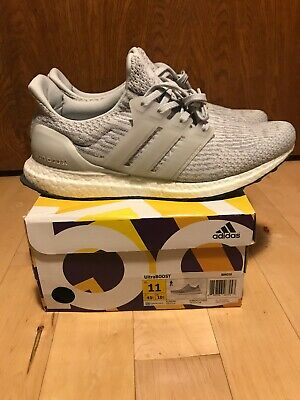 official photos b023a 7c547 Adidas Ultra Boost 3.0 2016 CLEAR GREY size 11 BB6059