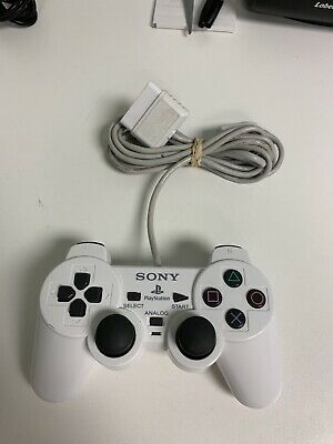 RARE Official Sony Playstation 2 PS2 DUALSHOCK OEM Controller White collectible