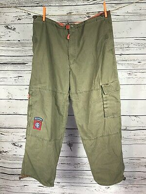 e5bdd9a4f8 American Eagle Cargo Pants Mens Size 36 x 30.5 Drawstrings At The Waist &  Legs