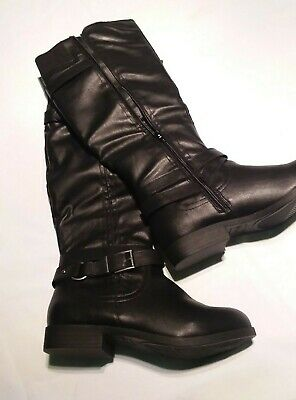 59a8b566545ca STYLE & CO Amuse Women Brown Knee High Boots 7M - $20.00 | PicClick