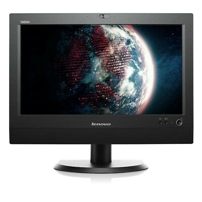 """Lenovo ThinkCentre M72z i5 3470 3,2GHz  8GB 250GB 20"""" All In One Wlan Win 10 Pro"""