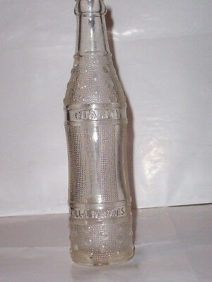 """""""Quality Beverages""""/Rolla, Missouri 7 1/2 Ounce Embossed Soda Bottle"""