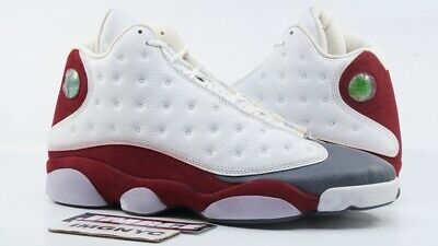 609c5bb88dd6 Air Jordan Xiii 13 Retro New Size 11 Grey Toe White Red Flint Grey 310004  161