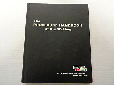 The Procedure Handbook Of Arc Welding 12th Edition Lincoln Electric 1973 HC