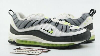 new concept 10098 80446 Nike Air Max 97 Retro Used Size 10.5 Cool Grey Volt White Silver 640744 002