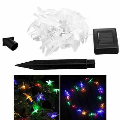 LED Solar String Lights Waterproof Copper Wire Fairy Outdoor&Garden MH