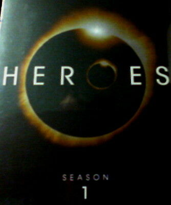 HEROES The COMPLETE FIRST SEASON 23 Episodes + Bonus Features 7-Disc Set SEALED