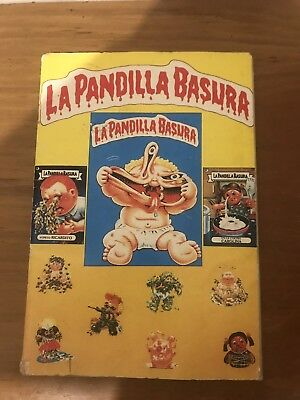 Garbage Pail Kids  Full - 1 Yellow Album La Pandilla Basura