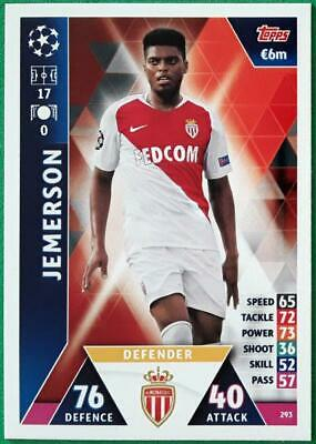 Topps Match Attax Champions League 2018-2019 Card No. 293 Jemerson