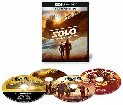 New Solo A Star Wars Story 4K ULTRA HD+3D+2D Blu-ray Limited Edi From japan
