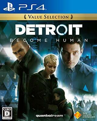 NEW PS4 Detroit: Become Human Premium Edition JAPAN OFFIC From japan
