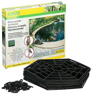 20, 40 or 60 Pond Guard Pest Deterrent Fish Protector Floating Cover Garden