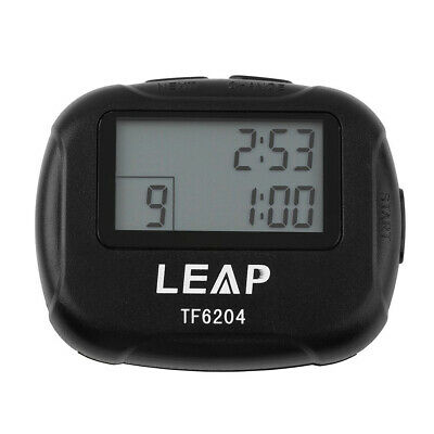 workout multiple interval training and circuit timer stopwatchtraining electronics interval timer sports crossfit boxing segment stopwatch new