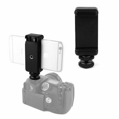 1/4Inch Hot Shoe Tripod Mount Screw Cell Phone Clip Holder For Flash Camera DSLR