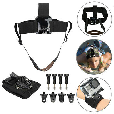 Action Camera Climbing Head Strap Mount For Insta360 ONE X ONE Accessories Set