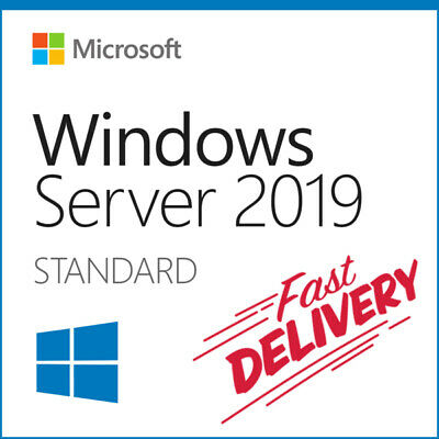 Windows Server 2019 Standard 32 / 64 bit Genuine License Key and Download 👍✌