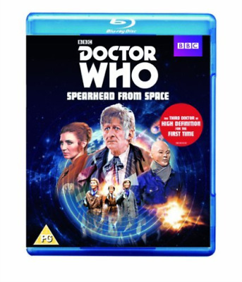 Betty Bowden, Helen Doward-Doctor Who: Spearhead from Space Blu-ray NEW