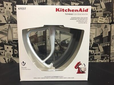 Kitchen Aid KFE5T Flex Edge Beater for Tilt-Head Stand Mixers NEW- FAST SHIPPING