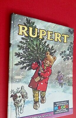 Rupert Annual 1965..original...not Inscribed Or Clipped...magic-Paints Untouched