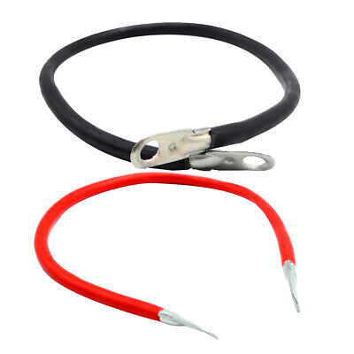 Pair 5 Gauge AWG Battery Cable Solar Marine Car Copper Power Inverter Wire