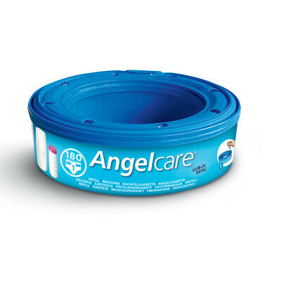 Angelcare Nappy Cassette Disposal System Wrappers Bags Sacks 1x Refill
