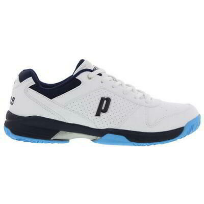 Prince Advantage Mens White All Court Tennis Shoes Trainers Size UK 6-12