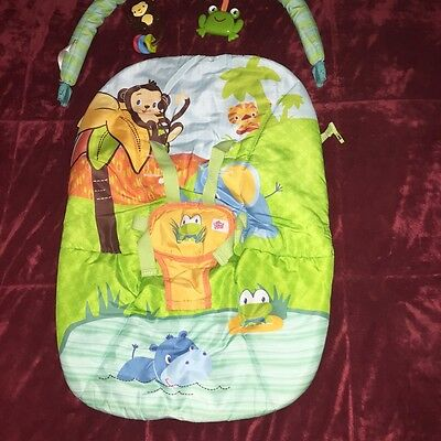 COVER & TOY BAR - for Peek-a-Zoo Baby to Big Kid Rocker™ Kids II Bright Starts