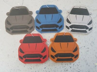 8 x Ford Focus RS mk3 Car Air Fresheners Forrest Fruits Scent!