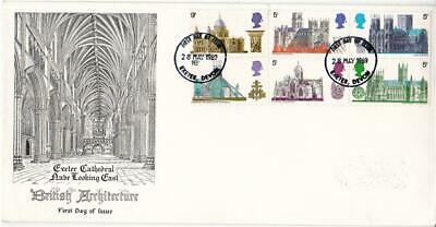 1969 Cathedrals - Exeter Cathedral Cover - Exeter FDI - SCARCE !!
