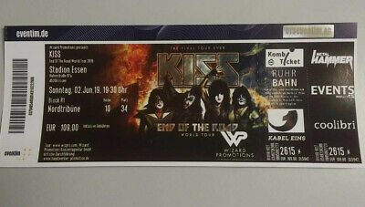 KISS 1 Ticket Essen 02.06.19