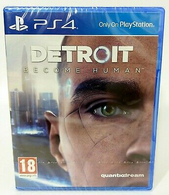 Detroit: Become Human PS4 (PlayStation 4) Official UK Stock New and Sealed