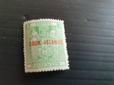COOK ISLANDS 1943-54 SG 135w Wmk inverted  FISCAL STAMP MNH