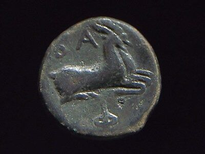 Authentic Greek coin of King Philip V of Macedoina 221-179 BC  CC8791