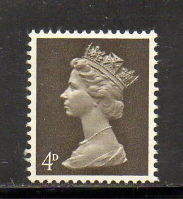 SG 731ea 4d Deep Olive-brown Machin - Unmounted Mint