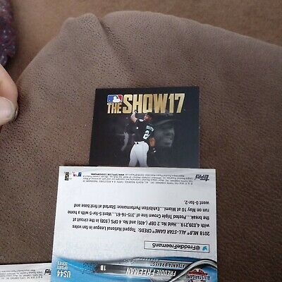 2018 TOPPS SERIES 2 - MLB The Show 18 Unused Code - 10