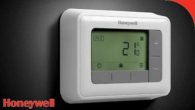 THERMOSTAT D'AMBIANCE PROGRAMMABLE MODULANT HONEYWELL t4 - FILAIRE - CHAUDIÈRE
