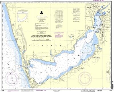 NOAA Nautical Chart 14935: White Lake