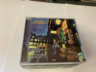 DAVID BOWIE Ziggy Stardust And The Spiders From Mars CD RMSTR EX/EX 724352190003
