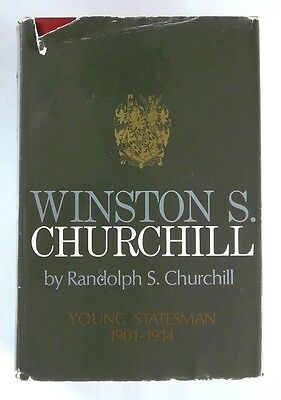 WINSTON S. CHURCHILL Young Statesman 1901-1914 by RANDOLPH CHURCHILL (1967) 1st
