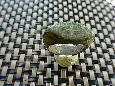 ANCIENT ROMAN BRONZE RING WITH CROSS 3rd - 5th CENTURY AD VERY RARE