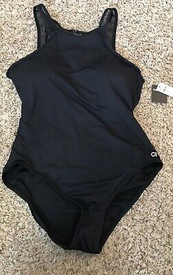 9f9148d6b946a ATHLETA AQUALUXE MOLDED Square Plunge S One Piece NWT Black 210885 ...
