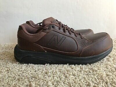 8838415fde959 Men's New Balance 928 Brown Leather Extra Wide Walking Comfort Shoes Size  11 2E