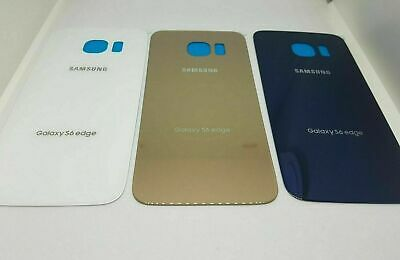 Back Rear original Glass Replacement Battery Cover  For Samsung Galaxy s6 Edge