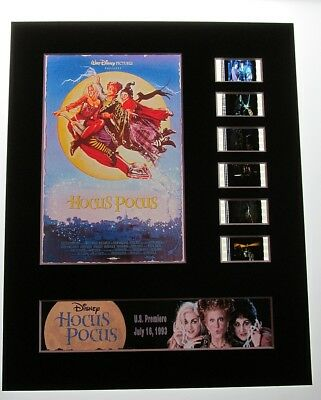 HOCUS POCUS Walt Disney 35mm Movie Film Cell Display 8x10 Presentation