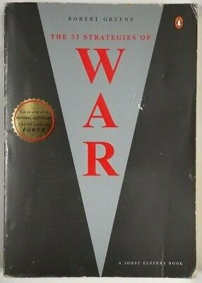 The 33 Strategies of War by Robert Greene and Joost Elffers (2007, Paperback)