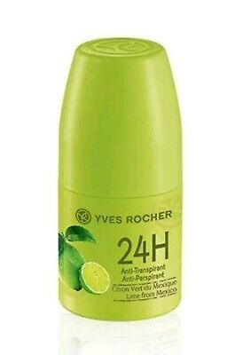 Yves Rocher Jardin Du Monde 24h Deodorant Roll On Lime From Mexico