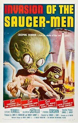 INVASION OF THE SAUCER-MEN - CLASSIC MOVIE POSTER 24x36 - 53183