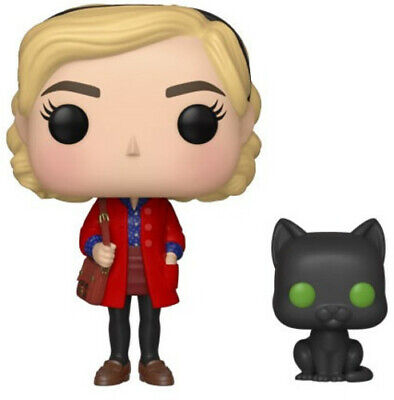 FUNKO POP! & BUDDY: Chilling Adventures - Sabrina W/ Salem [New Toys] Vinyl Fi